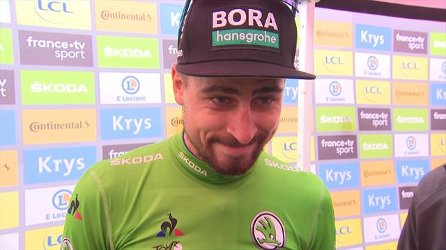 Sagan: It's 'very special' to set up record seventh green jersey triumph