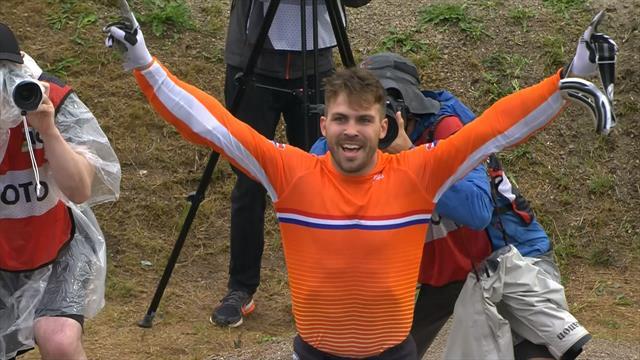 Twan van Gendt Wereldkampioen BMX - Kimmann 2e
