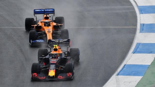 Gran Premio de Alemania: Carlos (Sainz) V en Alemania y Verstappen I en el caos