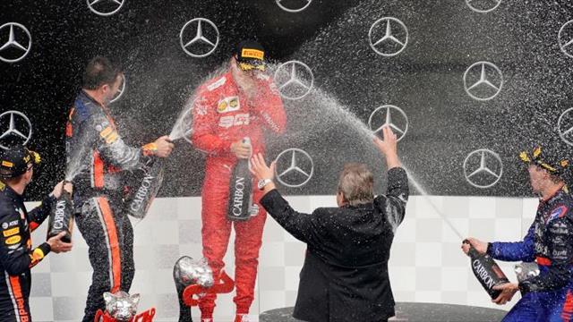 """Kvyat: """"Ha sido una carrera loca y a mí me ha salido bien"""""""