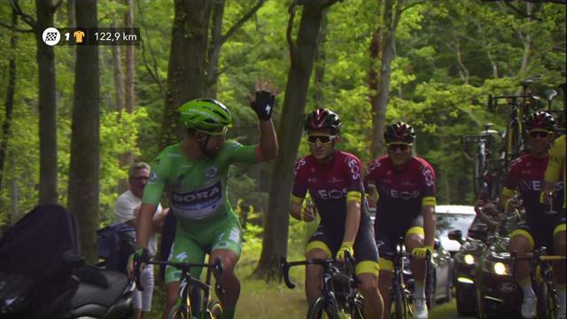 Tour de Francia 2019: Sagan despide el Tour troleando a Bernal