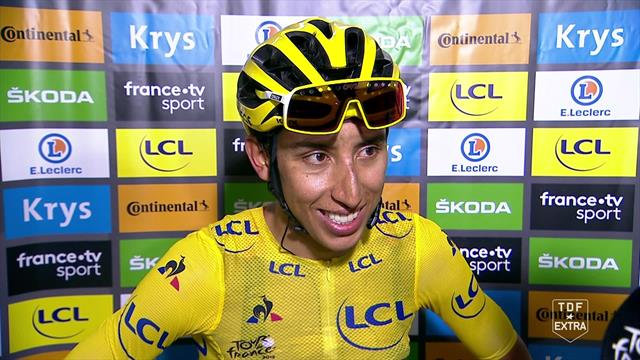 'I can't believe it!' – Egan Bernal on his victory