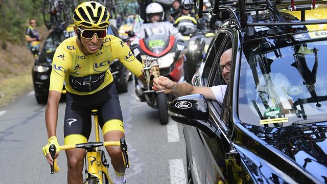 El vencedor del Tour, Egan Bernal, disputará la Clásica de San Sebastián en Eurosport