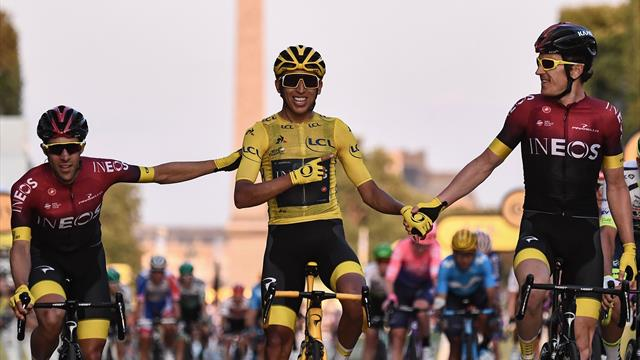 A Parigi vince Caleb Ewan! Bernal si prende il Tour, Sagan fa record di maglie verdi