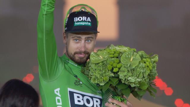 Impennate, autografi e scherzetti: tutto il meglio di Sagan al Tour de France