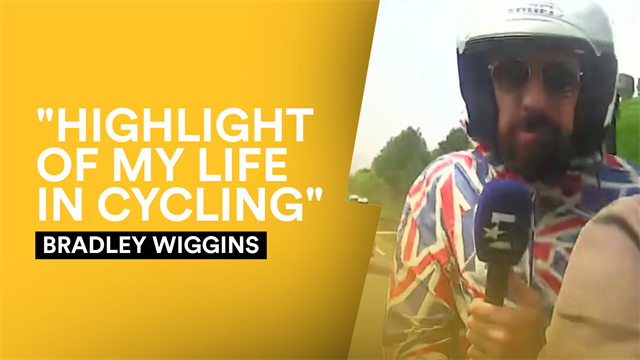 Wiggins - 'This has been the highlight of my life in cycling'