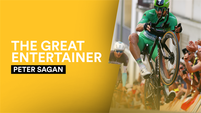 Wheelies, stage wins and the green jersey - Watch the best moments of Sagan's incredible Tour