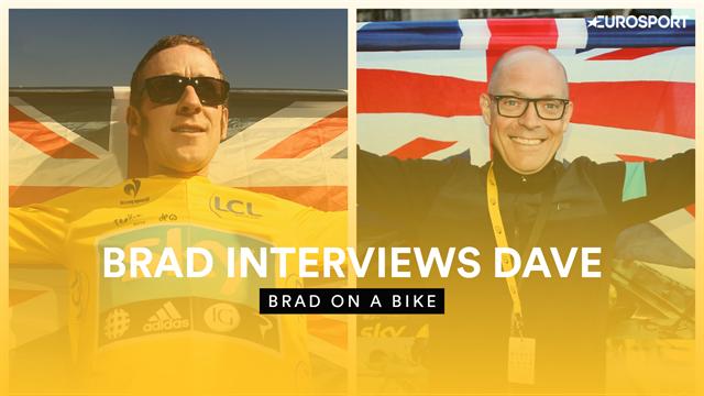 Dave Brailsford tells Bradley Wiggins: 'You were very different to Bernal at 22!'