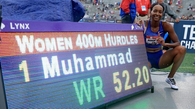 Pazzesca Dalilah Muhammad, record del mondo nei 400 ostacoli! Pechonkina cancellata dopo 16 anni