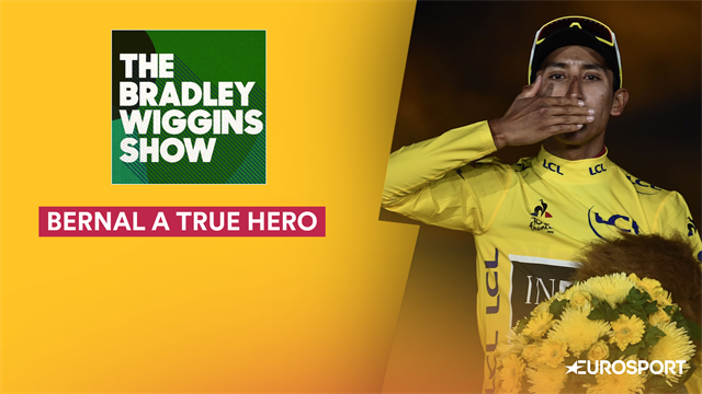 Wiggins podcast: Bernal a 'true sporting hero' after Tour win