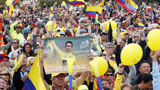 Zipaquirá, el pequeño pueblo colombiano que vibró con el triunfo de Egan Bernal en el Tour