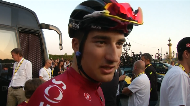 Gianni Moscon: 'Bernal will be one of the biggest riders in history'