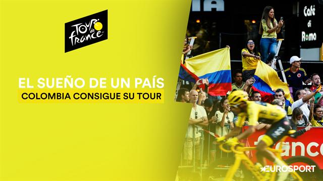 Tour de Francia 2019: La historia de Colombia para conseguir su 'sueño amarillo'