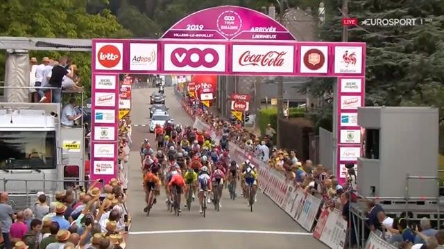 Tour de Valonia (4ª etapa): Victoria de Anaud Démare al esprint