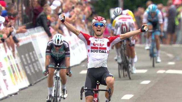 Van der Sande wins final stage as Vliegen takes overall victory