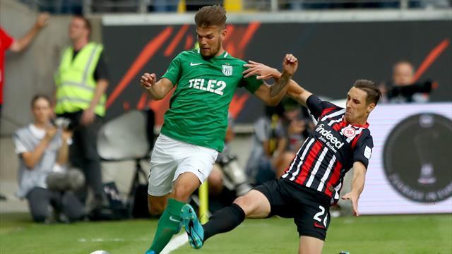 Eintracht Frankfurt - FC Flora Tallinn heute live im TV, Liveticker und Livestream