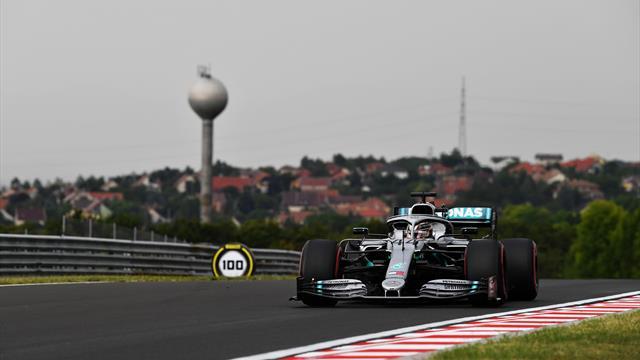 Hamilton torna davanti a tutti, bene Vettel e Verstappen: problemi per la W10 di Bottas