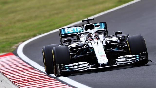 Hamilton first, Bottas last in Hungarian GP practice