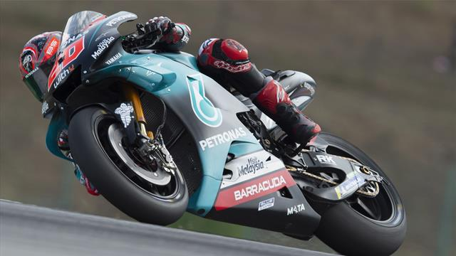 GP Rép. Tchèque-Qualifs MotoGP: Marquez égale Doohan, Zarco 3e