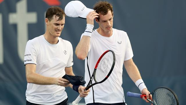 Andy Murray one win away from meeting with Jamie Murray