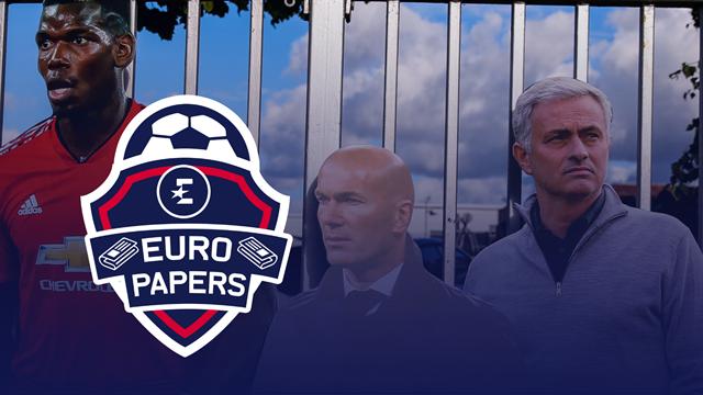 Euro Papers: Paul Pogba's nemesis Jose Mourinho stops Real Madrid deal