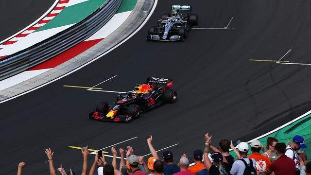 Verstappen proie des Mercedes, consigne chez Ferrari : le GP en questions