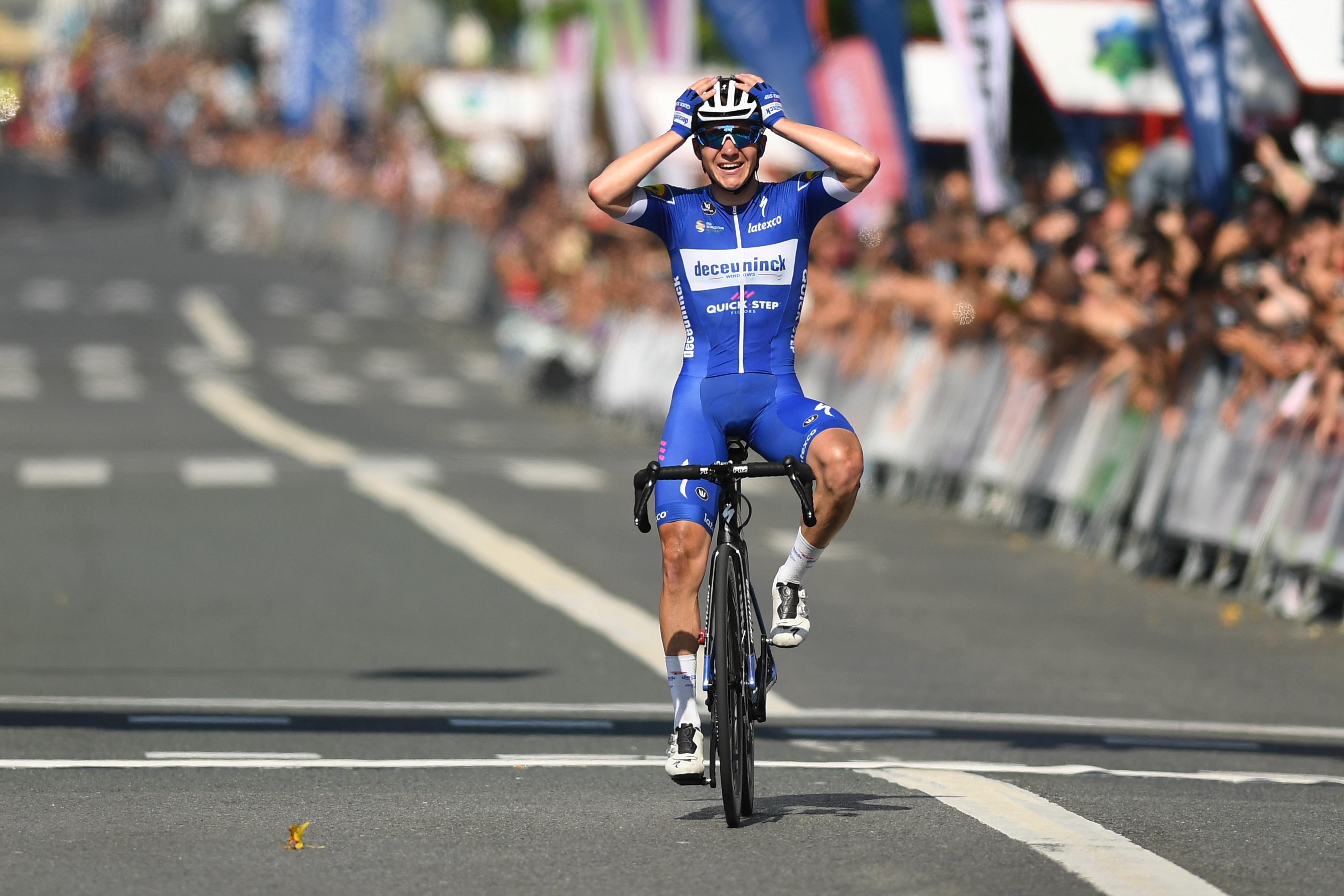 Remco Evenepoel, henüz 19 yaşında Clasica San Sebastian şampiyonu.