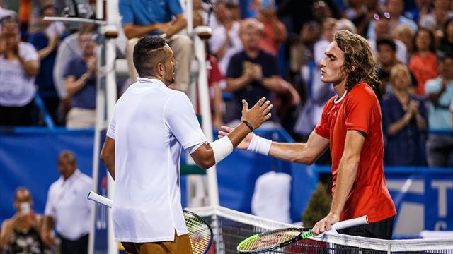 Tsitsipas met fin au parcours de Paire à Washington — Tennis
