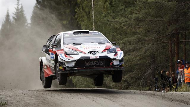Tanak wins in Finland to extend WRC lead over Ogier