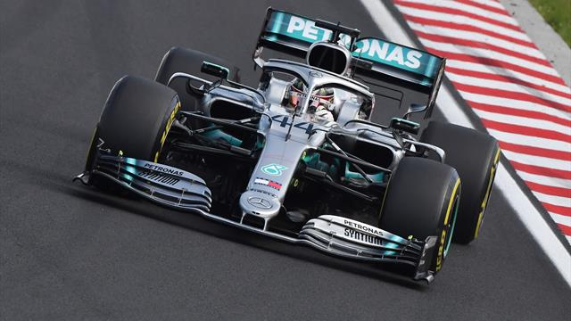 Hamilton late surge secures Hungary victory