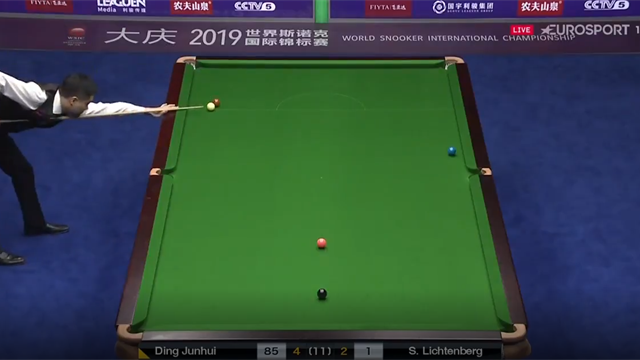 'I didn't think that was possible!' - Ding produces absurd cut on the brown