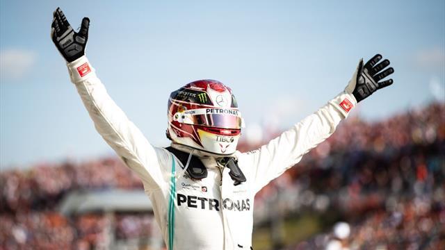 Formula 1, GP Hungría: Jugada maestra de Mercedes con triunfo de Hamilton y gran 5º puesto de Sainz