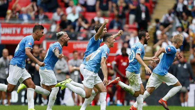Community Shield: Manchester City a câștigat primul trofeu al sezonului 2019/20