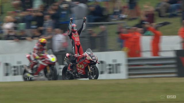 WATCH - The extraordinary finish to a crazy Race 2