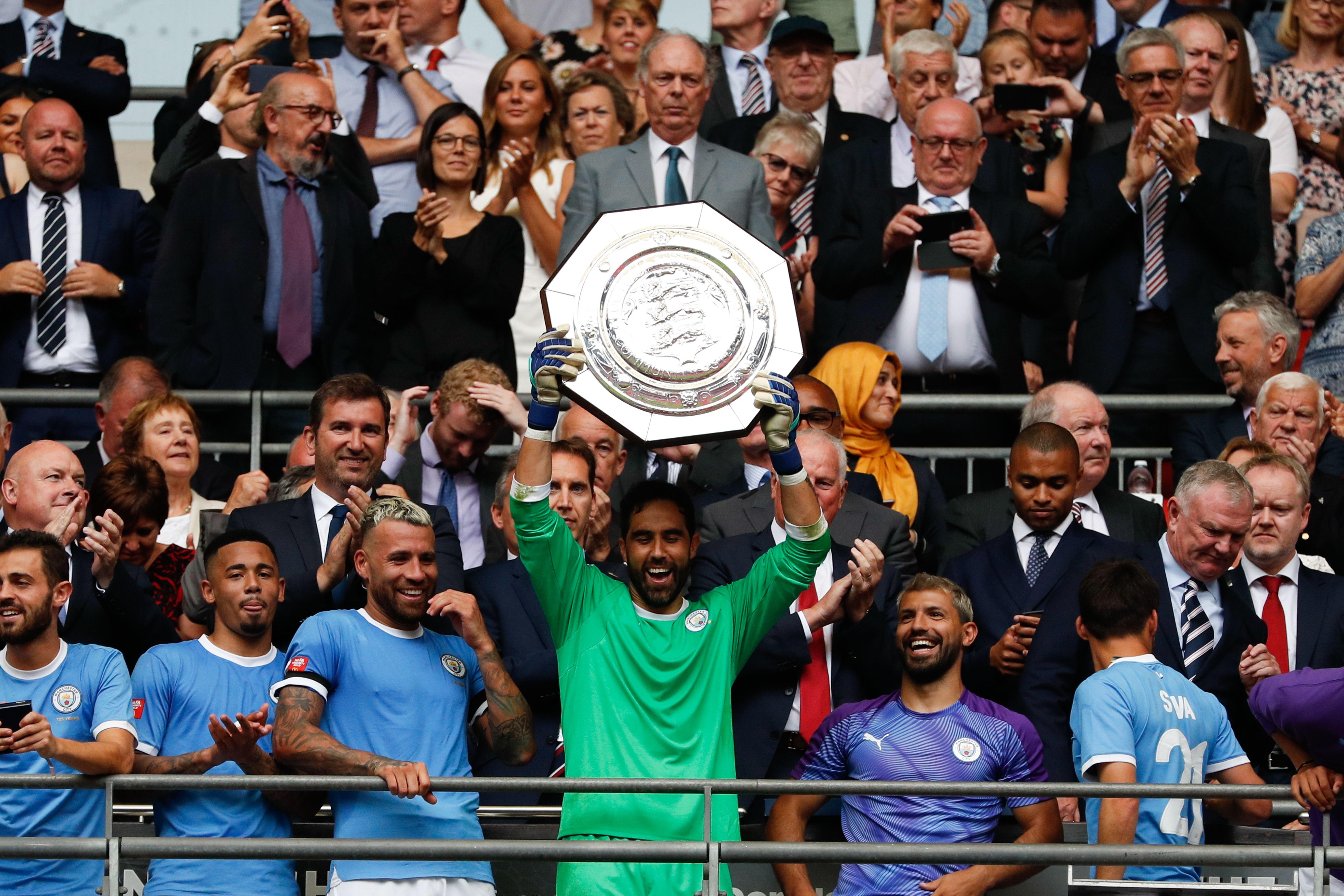 Claudio Bravo, Manchester City, Community Shield 2019