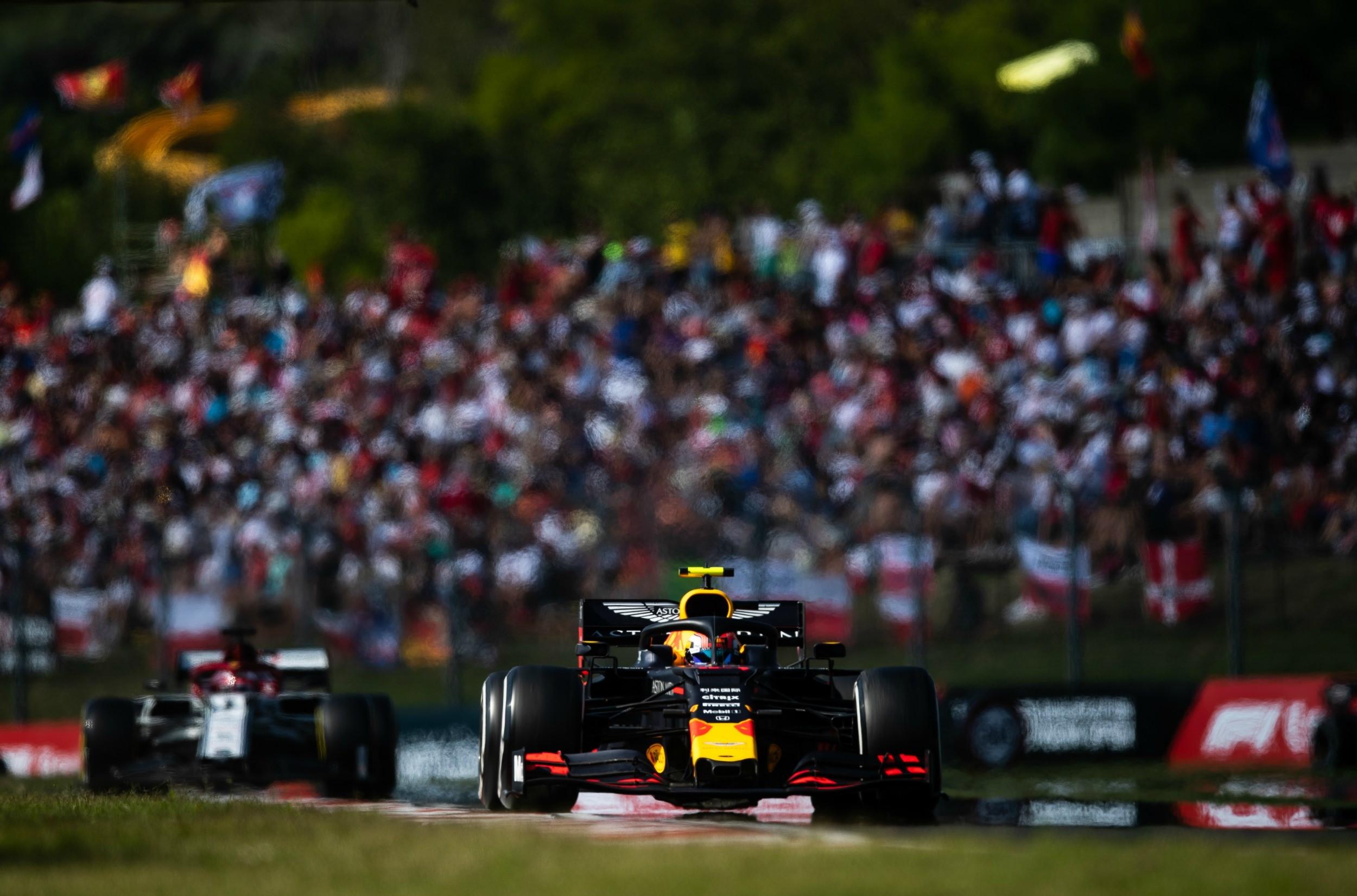 Pierre Gasly (Red Bull) au Grand Prix de Hongrie 2019