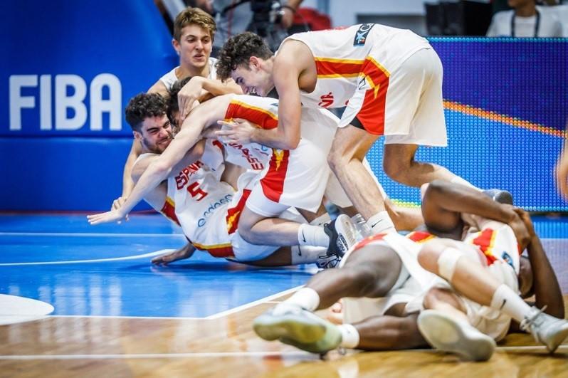 U 18 Avrupa Basketbol Şampiyonası'nda şampiyon İspanya oldu