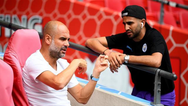 Mahrez était en tribunes de crainte... d'un contrôle antidopage