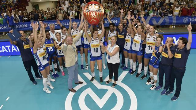 Calendario Volley Maschile 2020.Italvolley Missione Tokyo 2020 Compiuta Le Ragazze Terribili Ce L Hanno Fatta