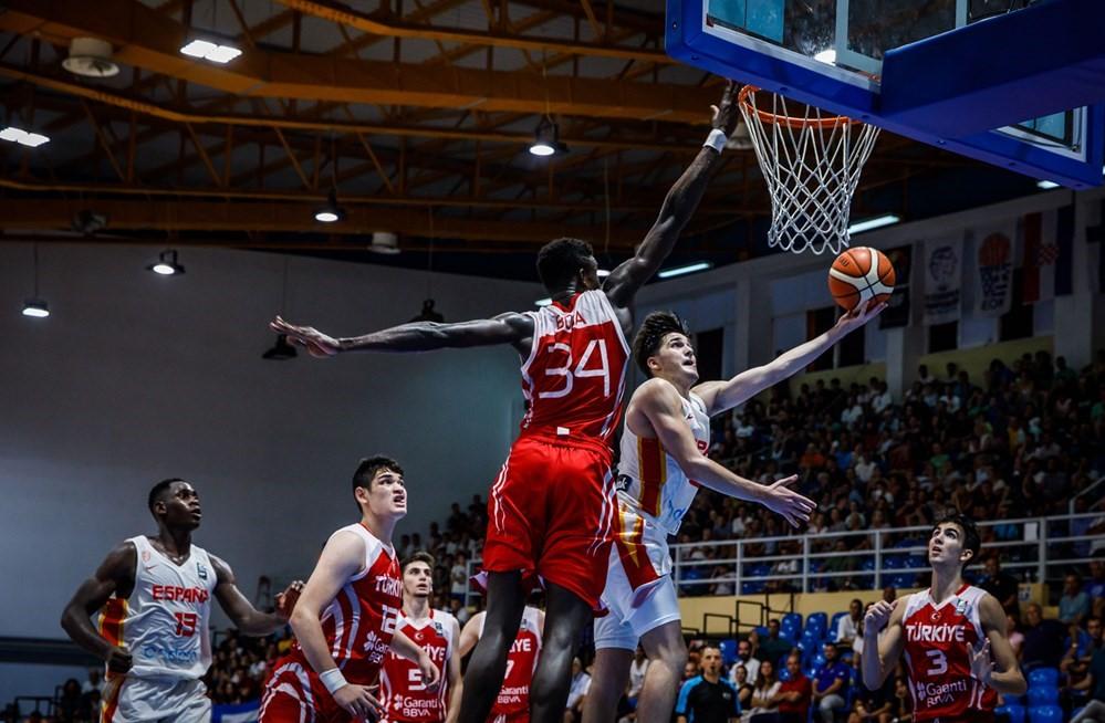 Türkiye - İspanya, U18 Avrupa Şampiyonası Finali