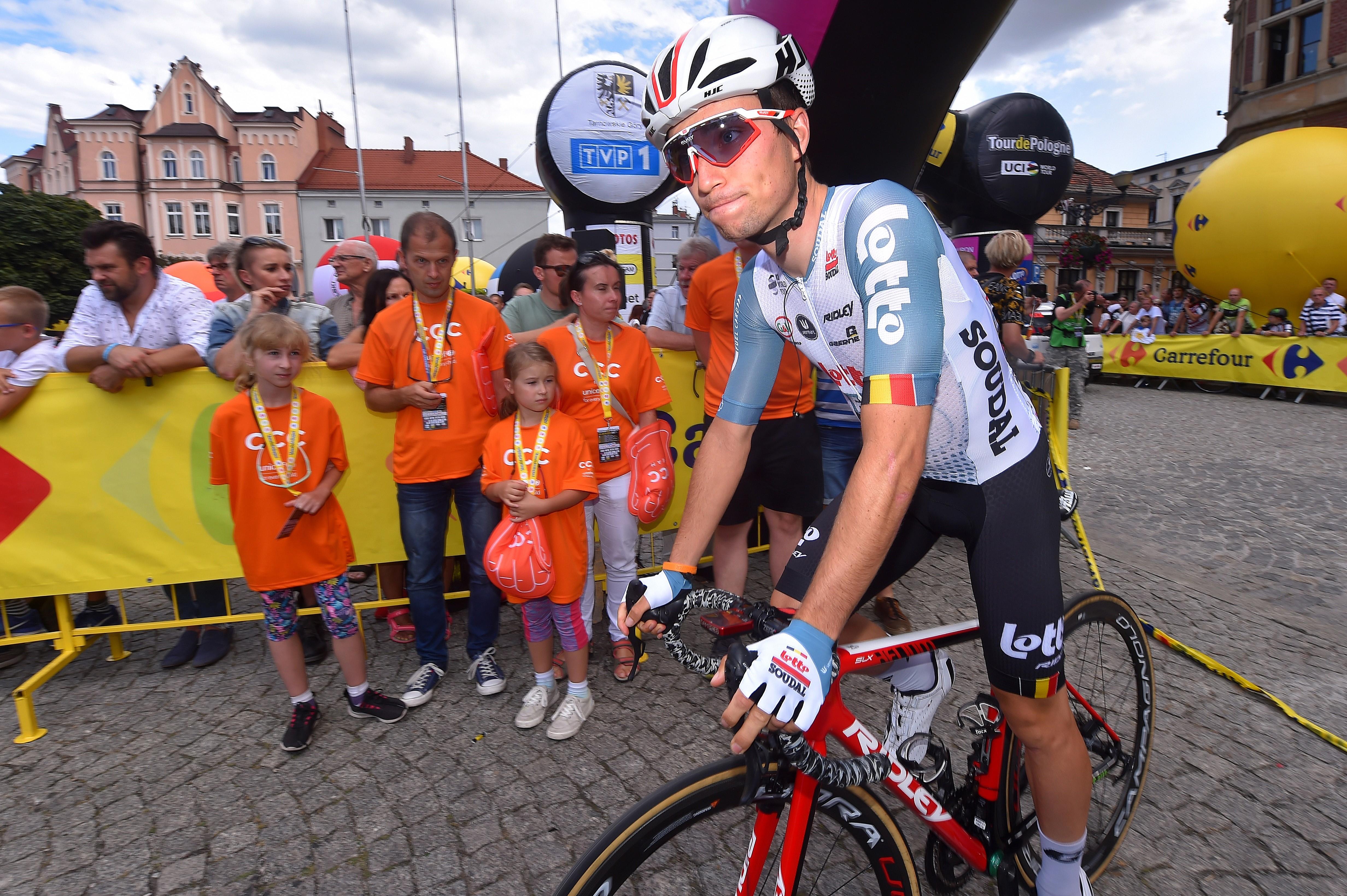 Bjorg Lambrecht lors du Tour de Pologne 2019