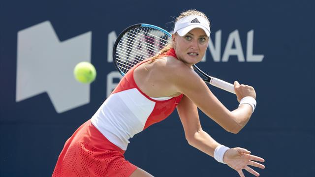 Tennis : Caroline Garcia et Kristina Mladenovic battues d'entrée à Toronto