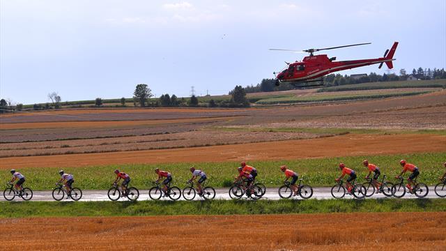 La 4e étape du Tour de Pologne neutralisée