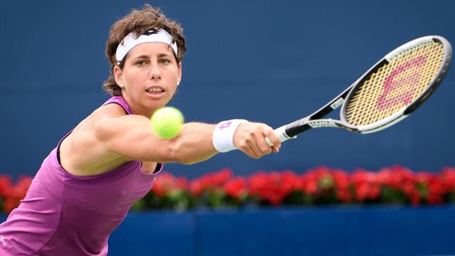 WTA Toronto, Carla Suárez-V. Williams: Contundencia y pase a segunda ronda (6-4 y 6-2)