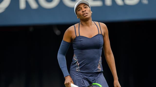 Venus defeats defending Cincinnati champion Bertens as Kerber falls