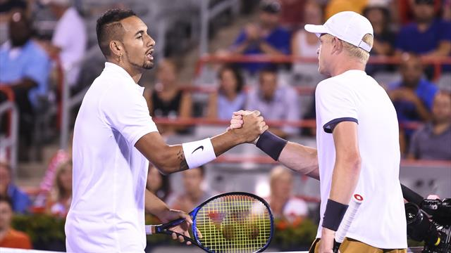 Edmund stops Kyrgios to reach second round in Montreal