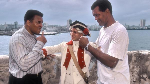 Teofilo Stevenson ve Muhammed Ali