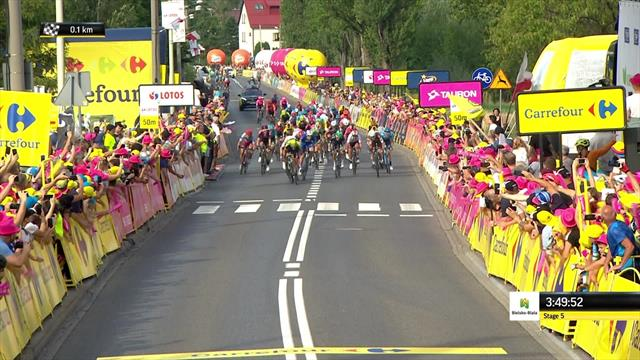Mezgec doubles up with Stage 5 victory
