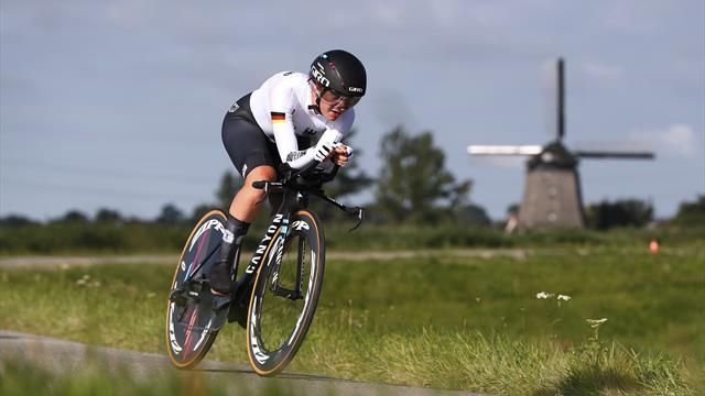 U23: EM-Gold für Deutschland im Zeitfahren der Frauen