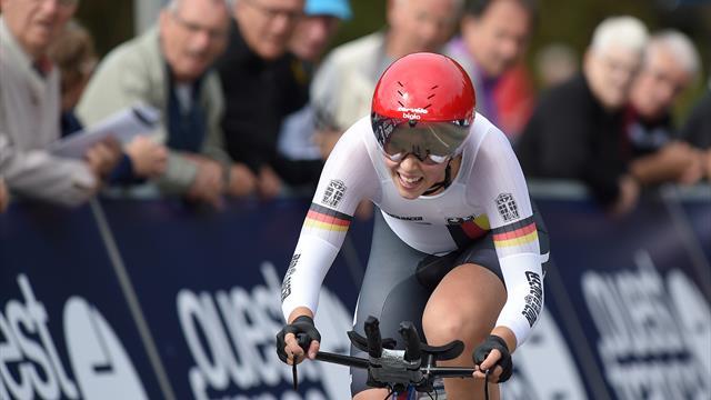 Mit Video | Zwei Zeitfahr-Medaillen für Deutschland bei Rad-EM
